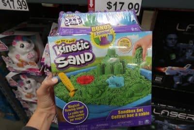 kinetic sand at BJs wholesale club
