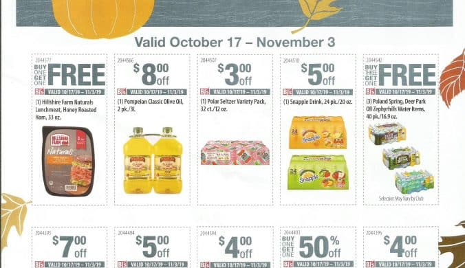 bjs grocery coupons