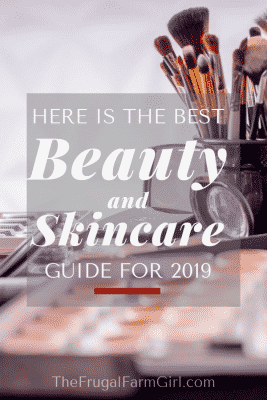 beauty and skincare gift guide for 2019