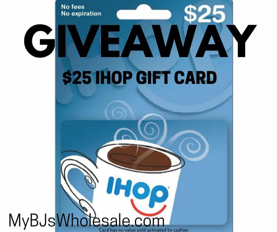 $25 ihop gift cared giveaway