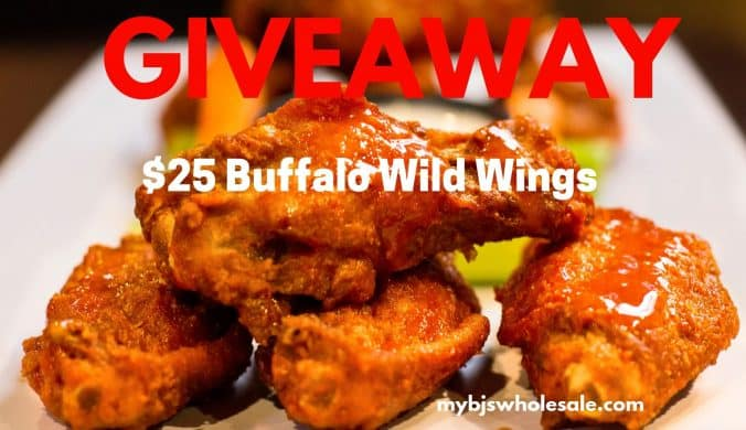 buffalo wild wings giveaway