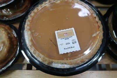 bj's pumpkin pie