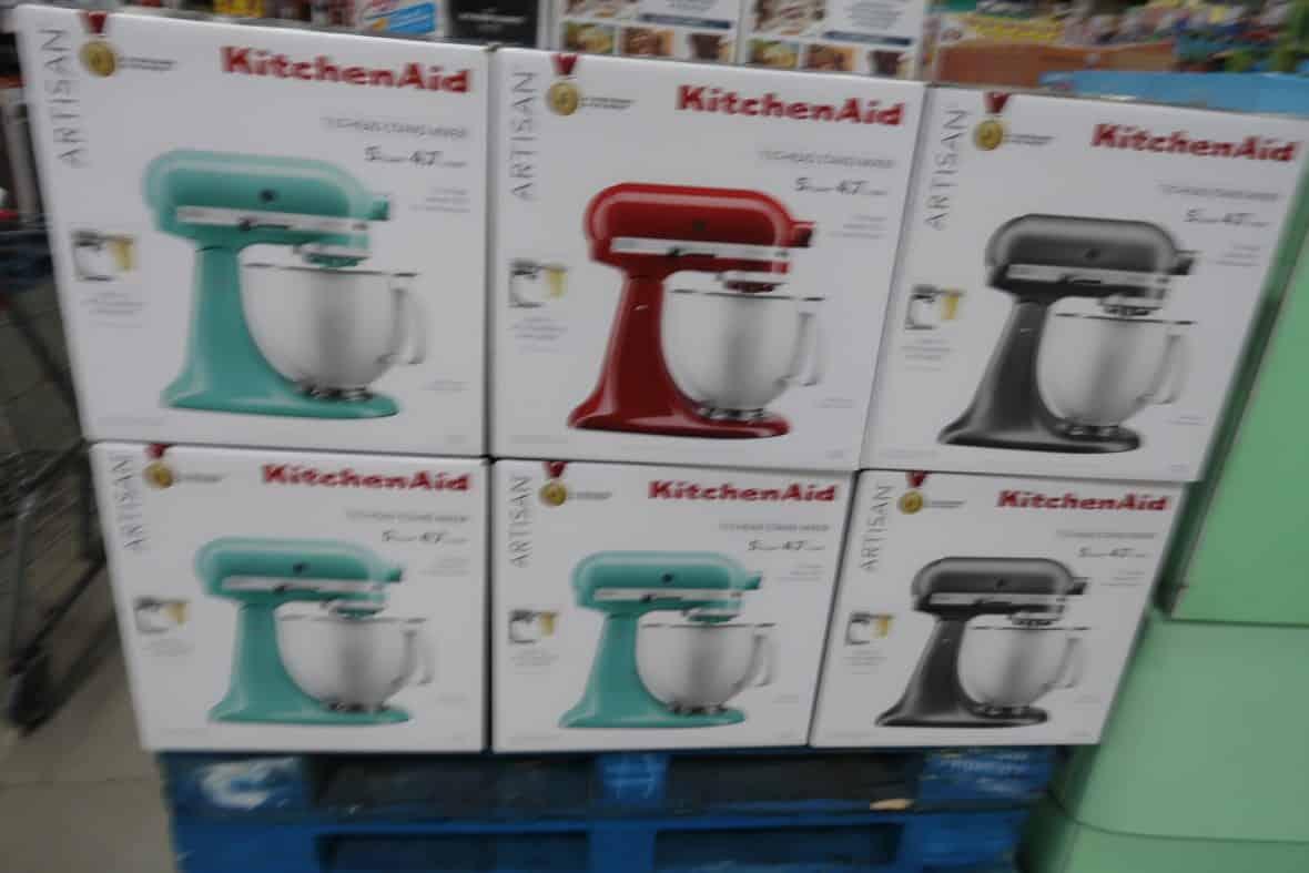WOW! KitchenAid Mixers & Attachements at BJs