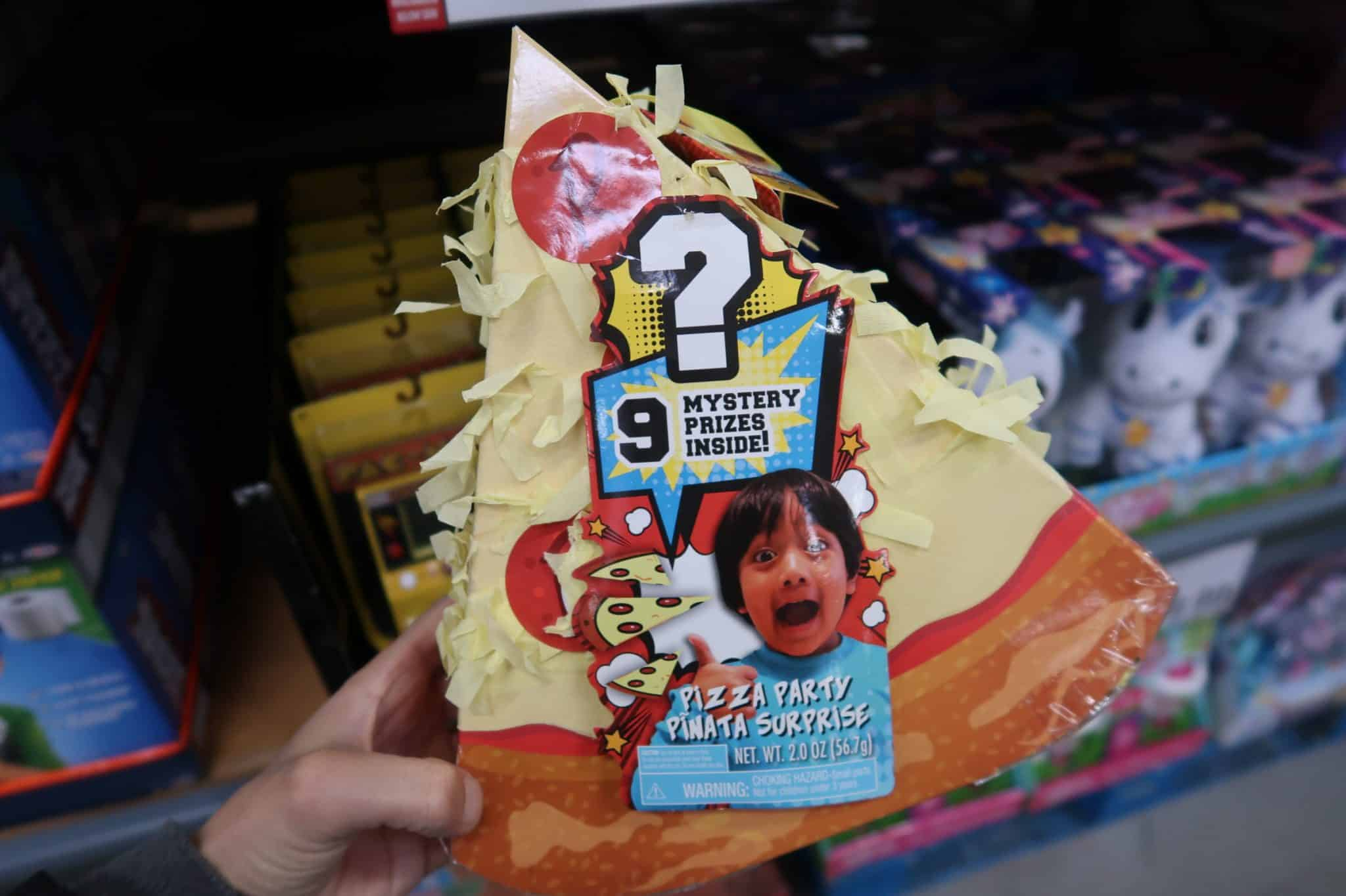 Ryan's World Pizza Party Pinata ONLY $8.97