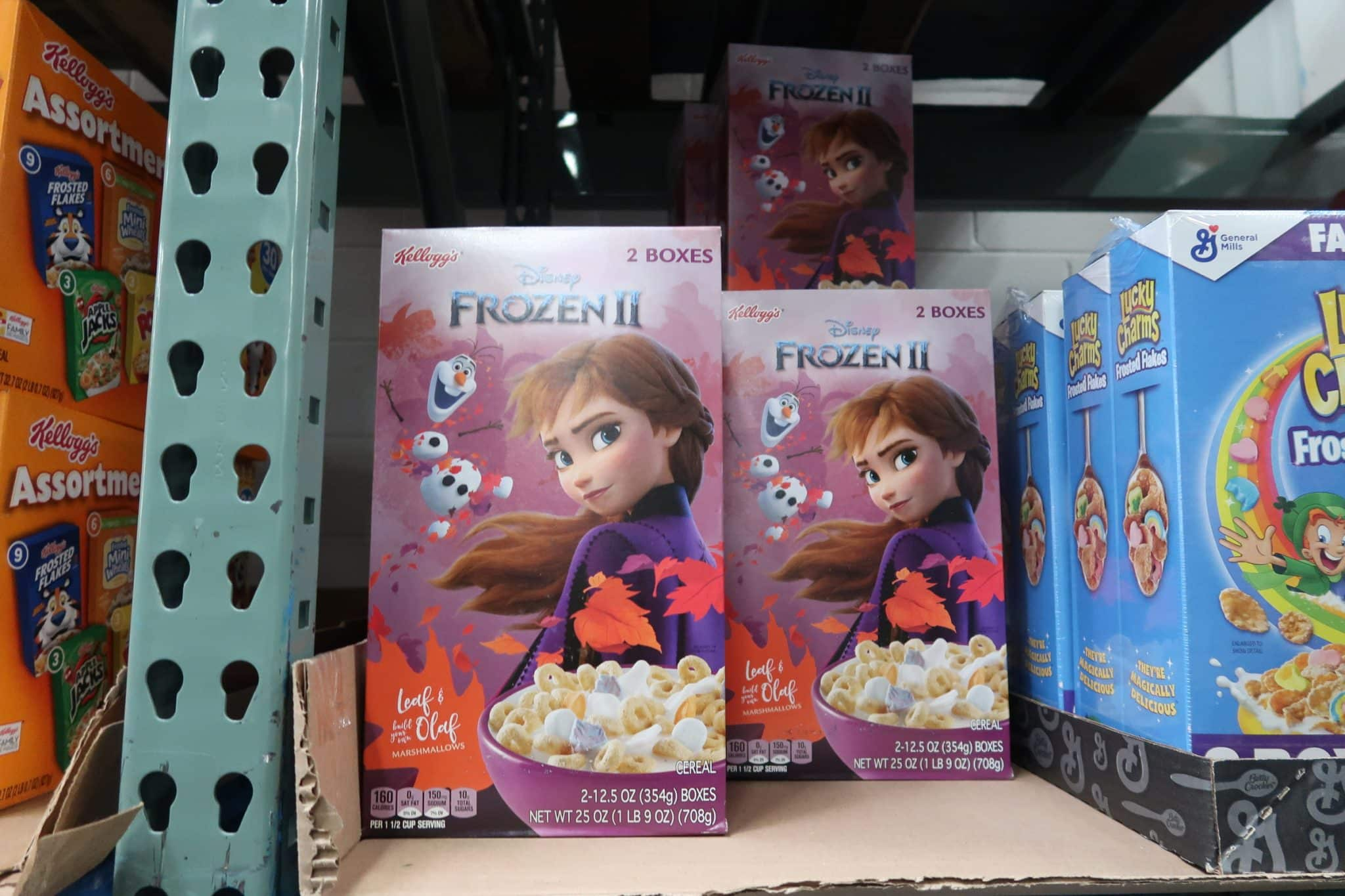 Frozen 2 Cereal ONLY $2.49 after Coupons