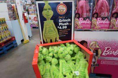 free grinch doll at BJs