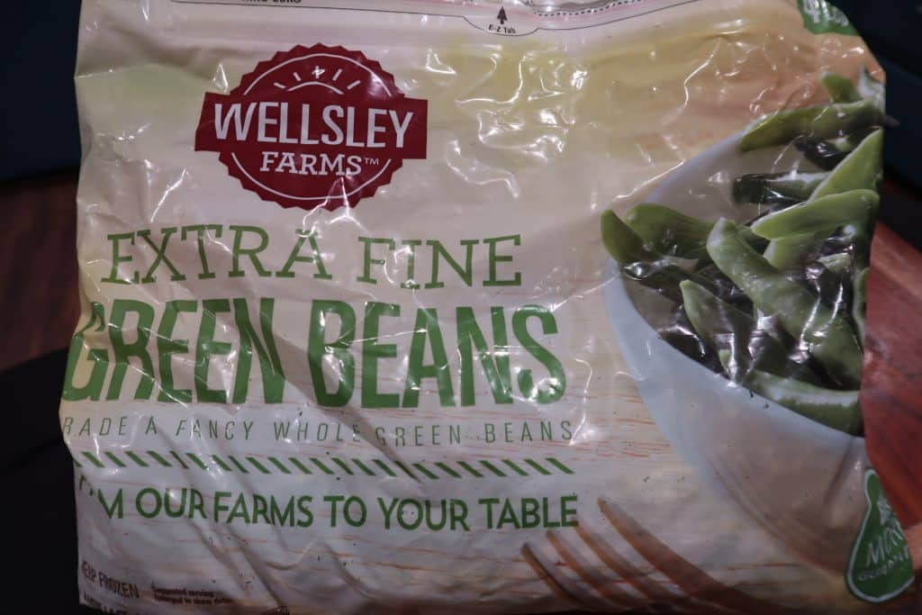 wellsley farms extra fine green beans