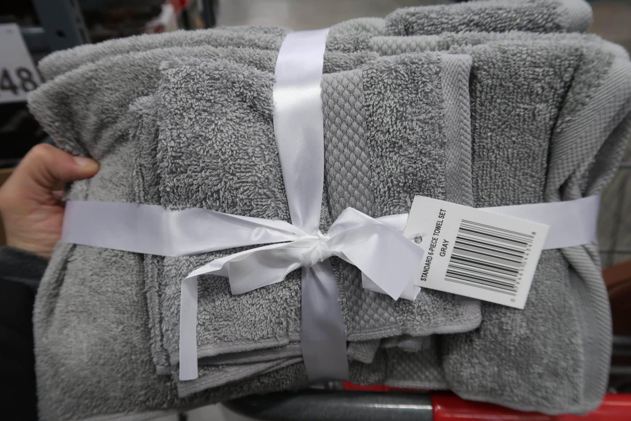 6 Pc. Bath Towel Set ONLY $4.48
