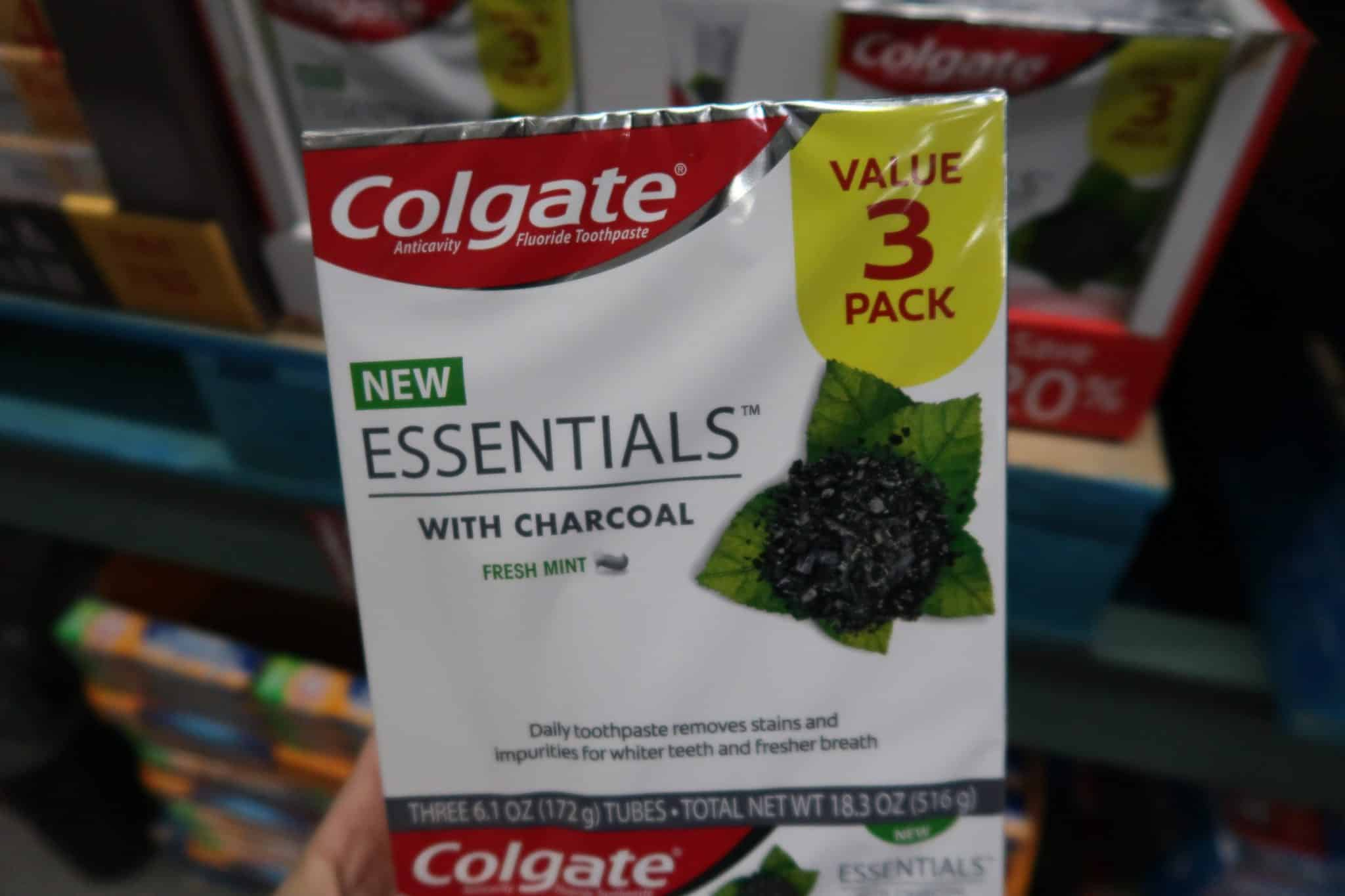 NEW Colgate Essentials Charcoal Toothpaste + Print a Coupon