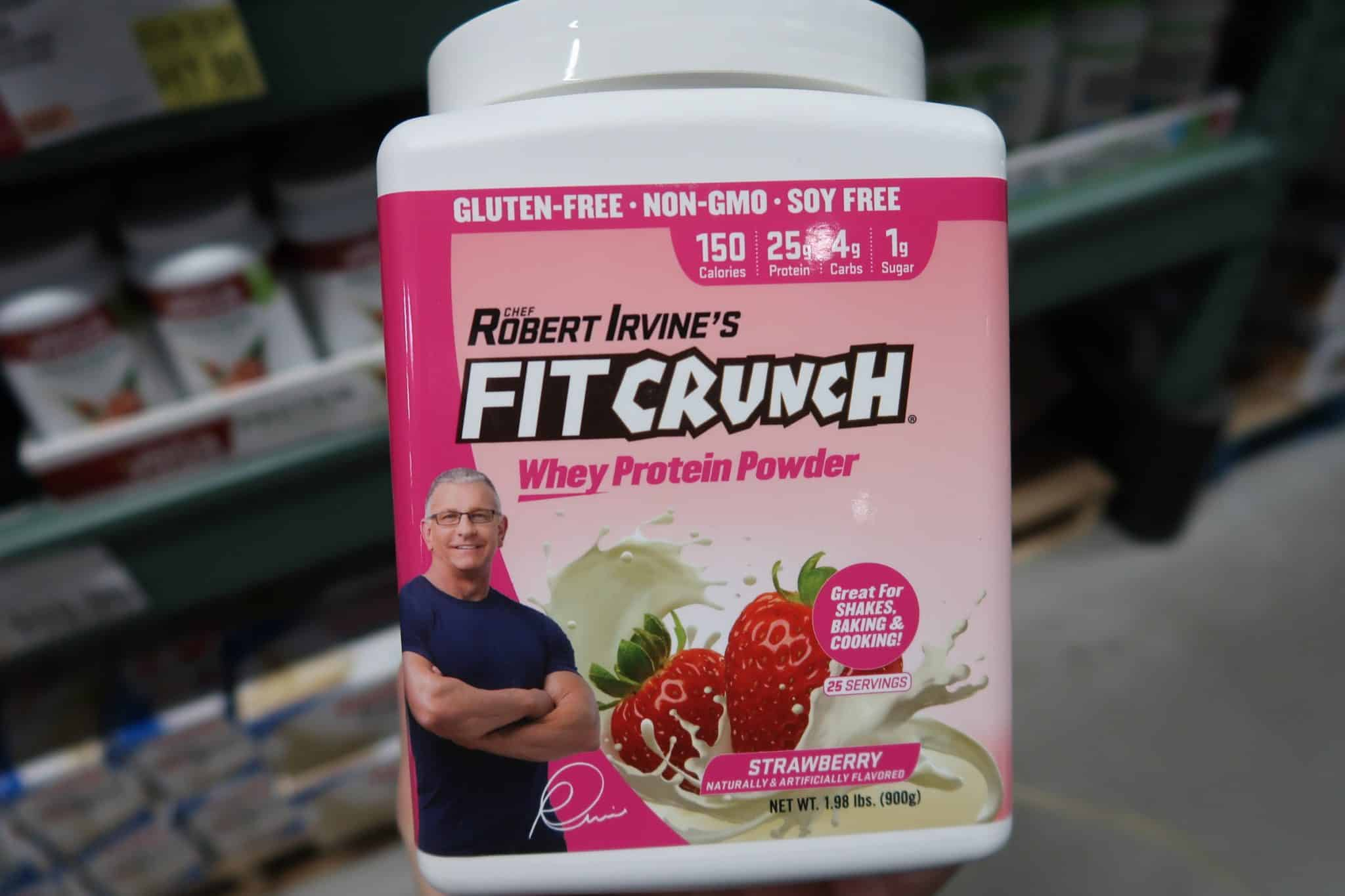 WOW! Fit Crunch Whey Protein Powder ONLY $2.98!