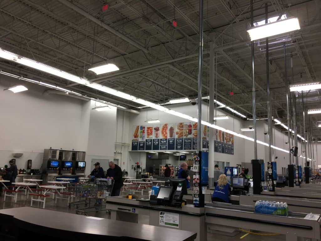 sam's club experience firs time