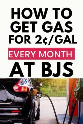 how to get cheap gas at BJs